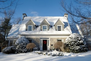 snowy house 300x200 Reduce Heating Bills with Heat Saving Tips