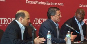Magic Johnson with Detroit Venture Partners