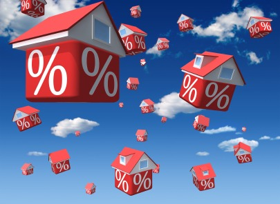 iStock falling rates houses XSmall Advantages of an Adjustable Rate Mortgage