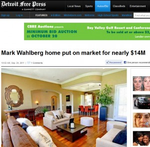 Mark Walhberg Home for Sale