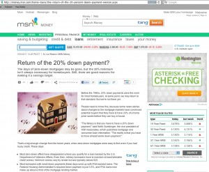 Has the 20% Down Payment Returned? - Quicken Loans Zing Blog