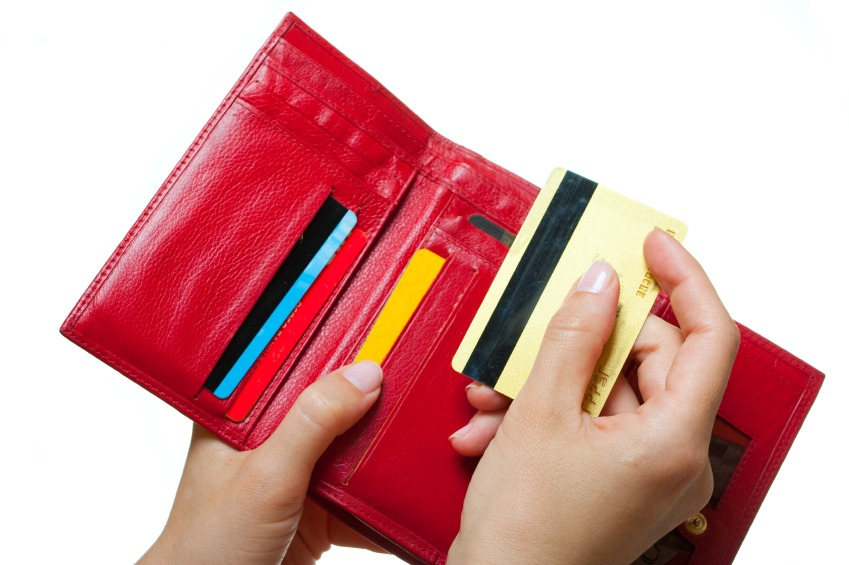 iStock Debit Card and Wallet Small Lesser Known Credit Card Perks