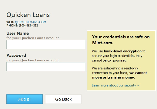 Quicken Loans Now On Mintcom Zing Blog By Quicken Loans