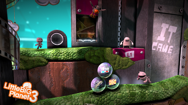 Screenshot of Little Big Planet
