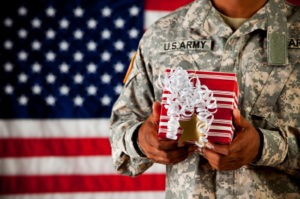 Soldier Holidays 300x199 Remembering Our Troops During the Holidays