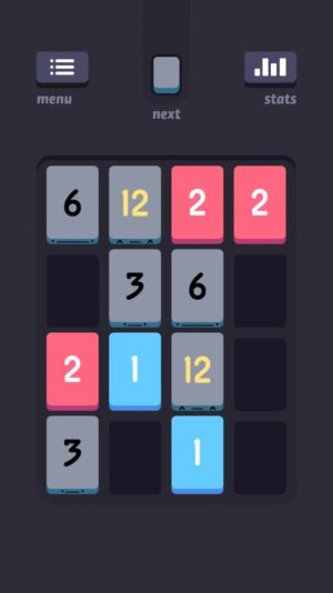 Screenshot of Threes
