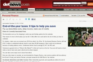 tax tips 300x201 End of the Year Tax Tips: 8 Tips to Help You Save