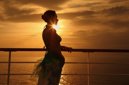 iStock Woman on Cruise XSmall Cheap Cruises in September