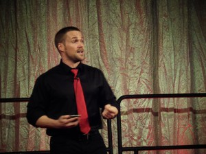 Guest Speaker Chris Powell at MGM Grand Detroit Go Red For Women - Quicken Loans Zing Blog