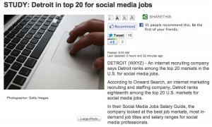 Screen shot 2012 02 17 at 12.01.53 PM 300x180 Detroit Ranked in Top 20 for Social Media Jobs