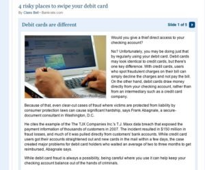bankrate debit card fraud 300x248 Top 5 Places for Debit Card Fraud