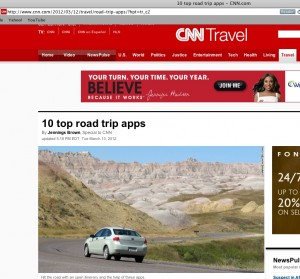 CNN Road Trip Apps - Quicken Loans Zing Blog