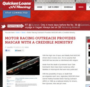 nascar religion 300x289 The Religion of NASCAR