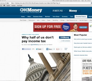 CNN Income Tax 300x264 CNN Money: Why Half of Us Don't Pay Income Tax