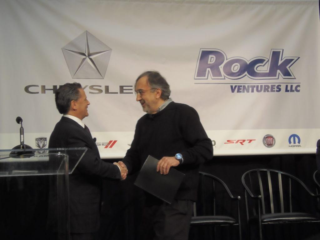 Dan Gilbert and Sergio Marchionne - Quicken Loans Zing Blog
