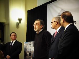 Dan Gilbert, Sergio Marchionne, Kirk Lewis & Sandy Baruah - Quicken Loans Zing Blog