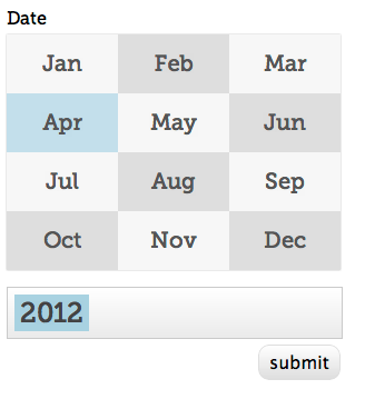 date picker Quicken Loans <3s Open Source