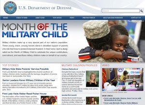 month of military child 300x217 Month of the Military Child