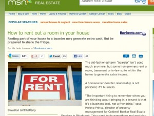 msn rent out a room copy 300x226 How To Rent Out a Room in Your House