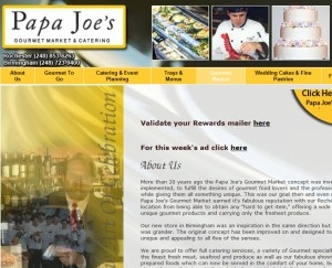 papa joes 300x243 Papa Joes Gourmet Food Market in Downtown Detroit?