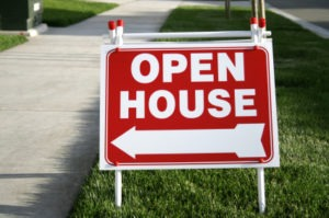 red open house sign 300x199 I'm Ready for My Close Up! Staging Your Home for Sale