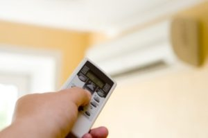 wall ac with remote control1 300x199 Don't Sweat It! Here Are Tips to Help Save on Air Conditioning Costs