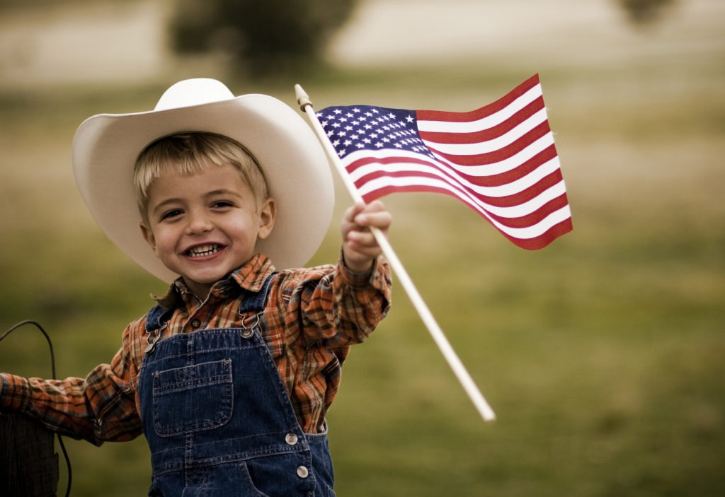Child AmericanFlag 1024x703 Firework Safety: 5 Tips to Stay Safe This Summer