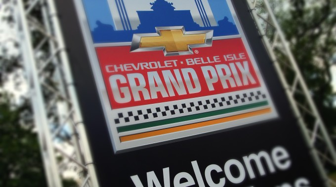 The Motor City Is Off To The Races In The Chevrolet Detroit Belle Isle Grand Prix