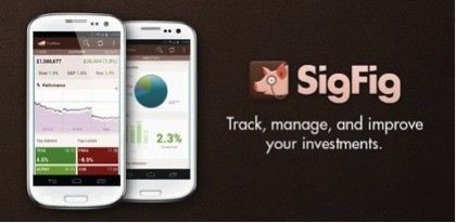 SigFig 5 Essential Money Management Apps for iPhone, iPad and Android