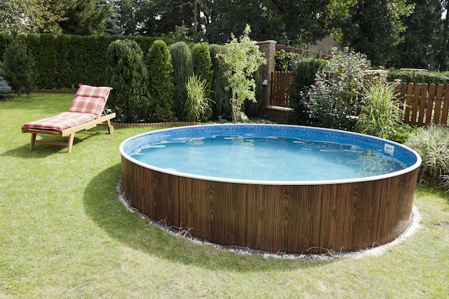 The pool with the deckchair - 5 Types Of Swimming Pools You Can Add To Your Home ZING Blog By