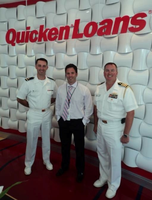 Jeff Perry Quicken Loans Quicken Loans Celebrates Cleveland Navy Week