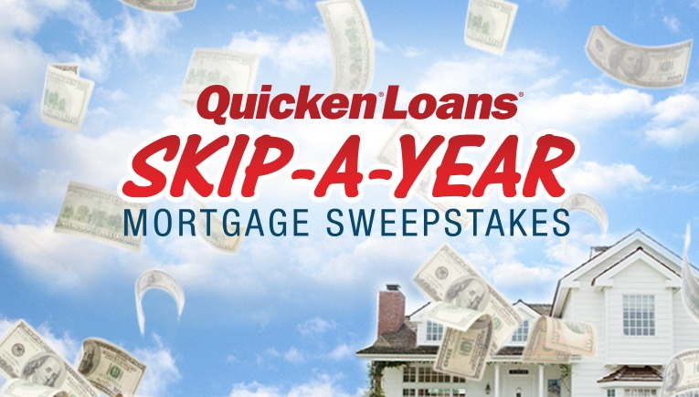Skip A Year QL Racing Slider 09 20 12 Enter The Quicken Loans Skip A Year Mortgage Sweepstakes Today!