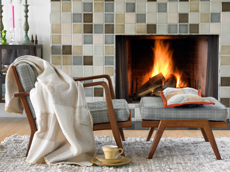 iStock Fireplace Cozy Blanket Small Stay Warm in Your Home Without Turning on the Heat