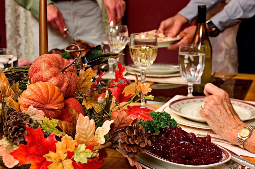 iStock Thanksgiving Table Thanksgiving Centerpieces and Dining Table Ideas