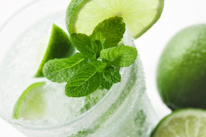 istock mint lime cocktail drink Create a Cocktail Container Garden