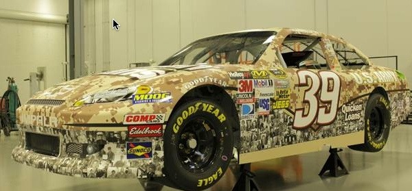 #39 Veterans Paint Scheme - Quicken Loans Zing Blog