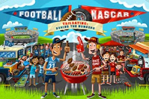 NASCAR vs. Football: Whos Got The Best Tailgate?