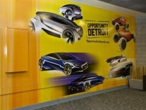 Fathead Transforms the North American International Auto Show