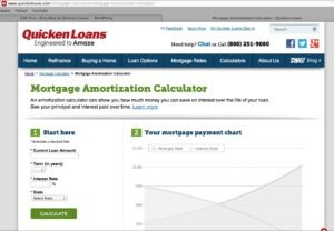 Mortgage Amortization Calculator Quicken Loans Zing Blog 300x208 Mortgage Amortization Calculator   Quicken Loans Zing Blog
