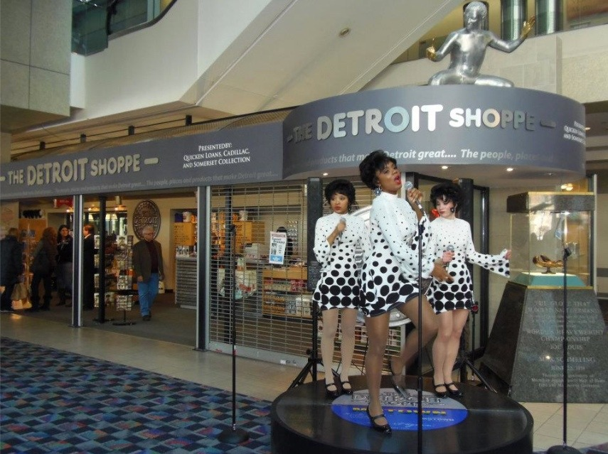 The Detroit Shoppe Cobo Hall