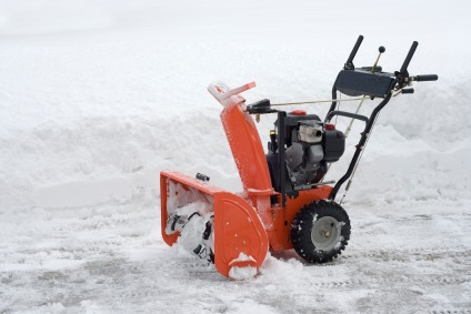 iStock Snow Blower XSmall Electric vs. Gas Snow Blowers: Which Should You Buy?