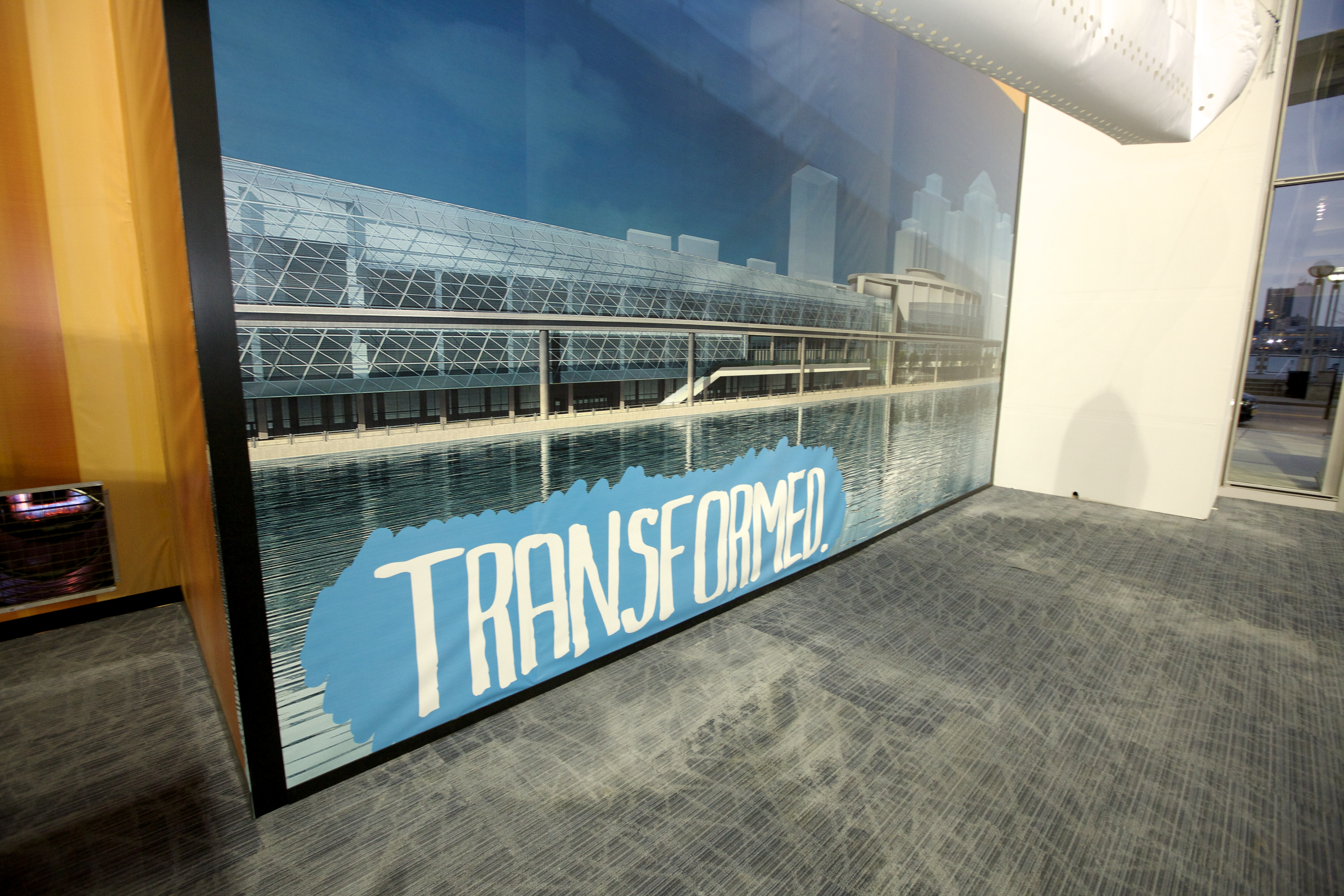 """Transform"" graphic made for the 2013 NAIAS by Fathead."