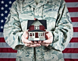 vet and house 300x234 VA Loan Funding Fee Explained