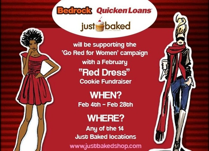 Just Baked Quicken Loans Supports National Heart Month by Raising Awareness