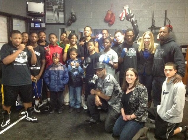 Downtown Boxing Gym Youth Program Downtown Boxing Gym Makes National News