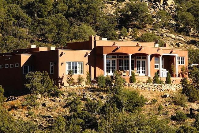 Modern Pueblo-style house