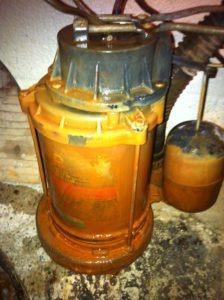 sump pump clay