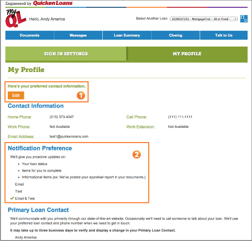 New MyQL Profile Page - ZING Blog by Quicken Loans | ZING