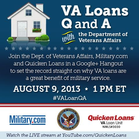 VA Loan Google+ Hangout - Quicken Loans Zing Blog