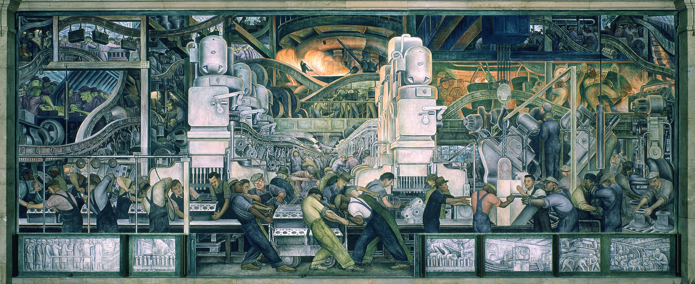 Detroit museums a brief overview zing blog by quicken for Diego rivera mural san francisco art institute